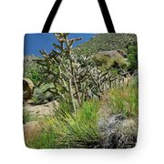 Greening Of The High Desert Tote Bag