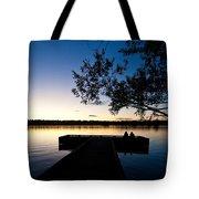 Greenlake Sunset Tote Bag