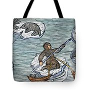 Greenland Eskimos, 1555 Tote Bag
