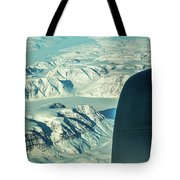 Greenland From Flight Level 380 Tote Bag