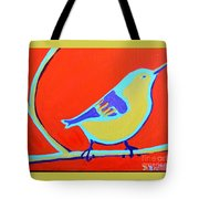 Greenough Nuthatch Tote Bag