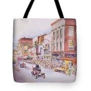 Greensboro Christmas Parade 1960 Tote Bag