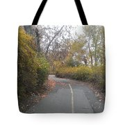 Greenway Trail In The Fall Tote Bag