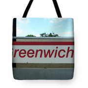 Greenwich Train Station Tote Bag