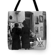 Greenwich Village, C1950 Tote Bag