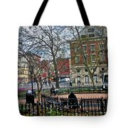 Greenwich Village New York City Tote Bag