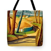 Greet The Sun By London Underground - Metro, Suburban - Retro Travel Poster - Vintage Poster Tote Bag