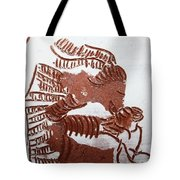 Greeting 2 - Tile Tote Bag
