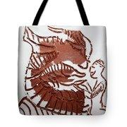 Greeting 4 - Tile Tote Bag