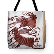 Greeting 7 - Tile Tote Bag