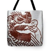 Greeting 9 - Tile Tote Bag