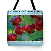 Greeting Card - Cherries #1 Tote Bag