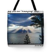 Greeting Card - Flathead Lake Tote Bag