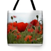 Greeting Card - Poppies In France Tote Bag