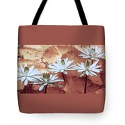 Greeting The Day Tote Bag