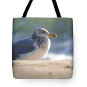 Greeting The Morning Tote Bag
