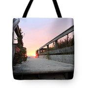 Greeting The Sunrise Tote Bag
