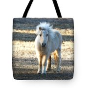 Greetings From A Hobbit Horse Tote Bag