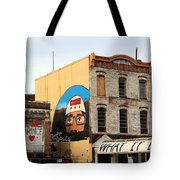 Greetings From Dystopia City -- Washington D C Tote Bag
