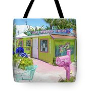 Greetings From Matlacha Island  Florida Tote Bag
