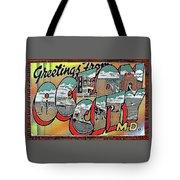 Greetings From Ocean City Tote Bag