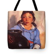 Gregorita With The Santa Clara Bowl 1917 Tote Bag