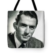 Gregory Peck Hollywood Actor Tote Bag