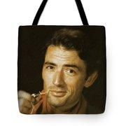 Gregory Peck, Vintage Actor Tote Bag