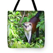 Grenada Monkey Tote Bag