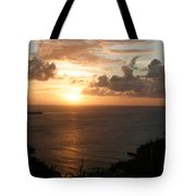 Grenadian Sunset I Tote Bag