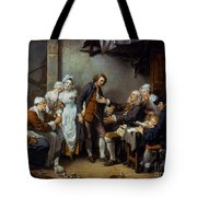 Greuze: The Village Bride Tote Bag