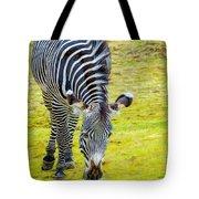 Grevys Zebra Left Tote Bag