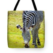 Grevys Zebra Right Tote Bag