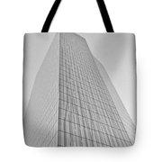 Grey Crystal Tote Bag