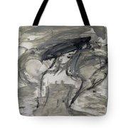 Grey Dream Tote Bag