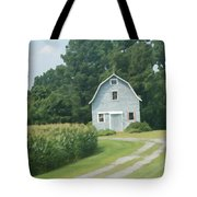 Grey Farmhouse - Northern Neck Tote Bag