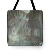 Grey Gallows Tote Bag