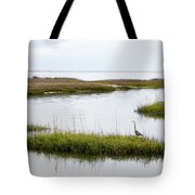Grey Heron #1 Tote Bag