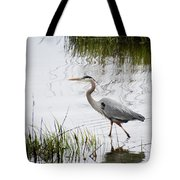 Grey Heron #3 Tote Bag