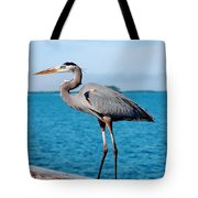 Grey Heron Tote Bag