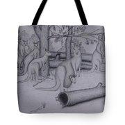 Grey Kangaroos Tote Bag