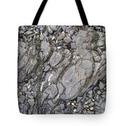 Grey Rocky Shore. Tote Bag