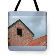 Grey Skyline Tote Bag
