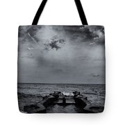 Grey Sun Tote Bag