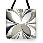 Grey Tone Rooster  Tote Bag