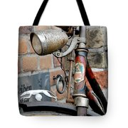 Greyhound Bicycle Tote Bag by Robert Lacy