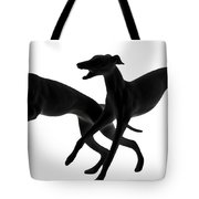 Greyhounds Travelling At 45 Mph Tote Bag
