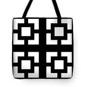 Grid 1  Tote Bag