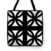 Grid 3  Tote Bag