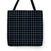 Grid Boxes In Black 18-p0171 Tote Bag